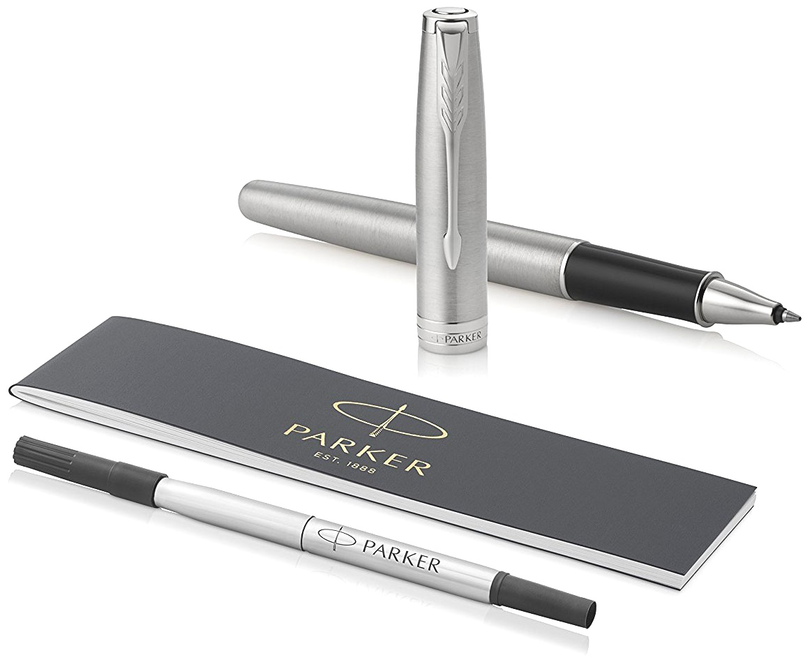 Ручка-роллер Parker Sonnet Core T526, Stainless Steel CT, фото 5