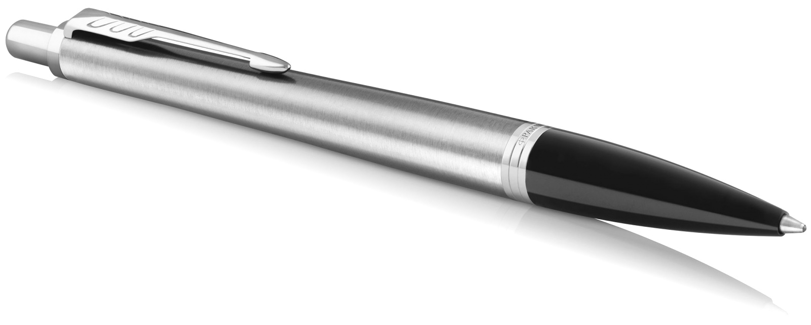 Ручка шариковая Parker Urban Core K309, Metro Metallic CT, фото 2
