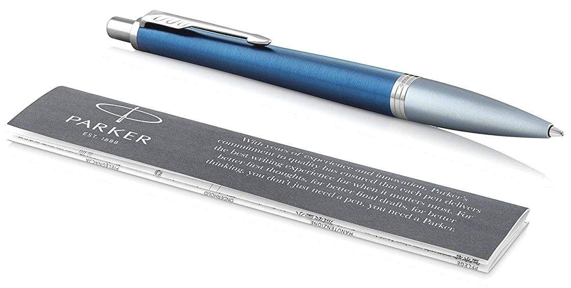 Ручка шариковая Parker Urban Premium K310, Dark Blue CT, фото 3