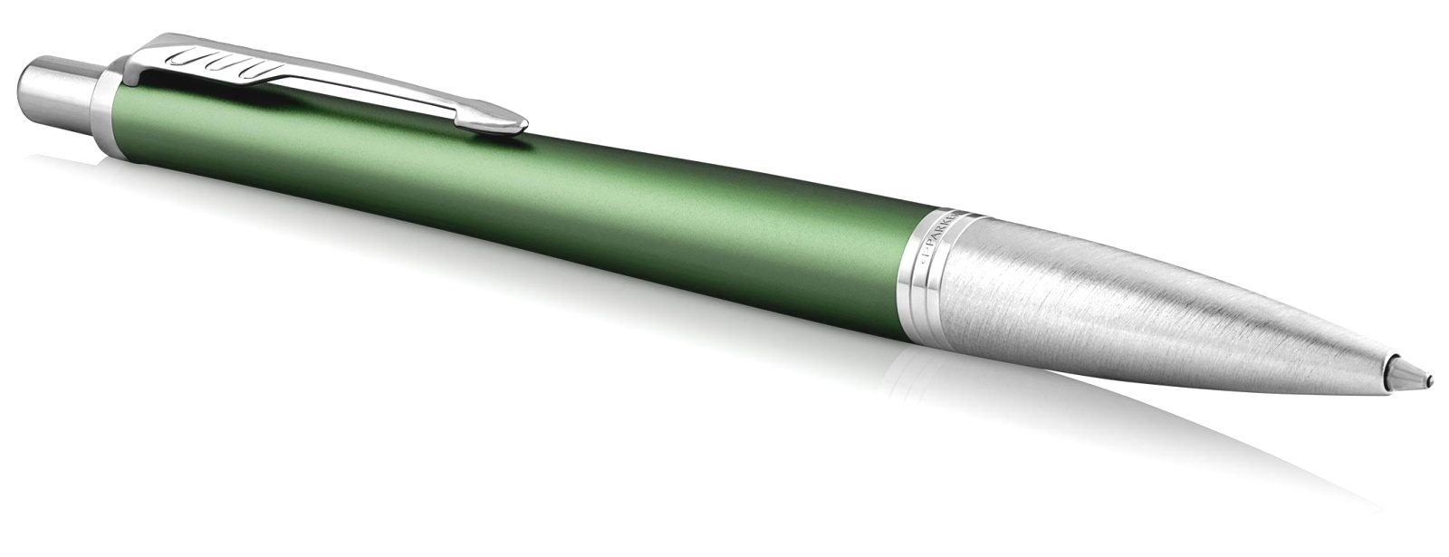Ручка шариковая Parker Urban Premium K311, Green CT, фото 2