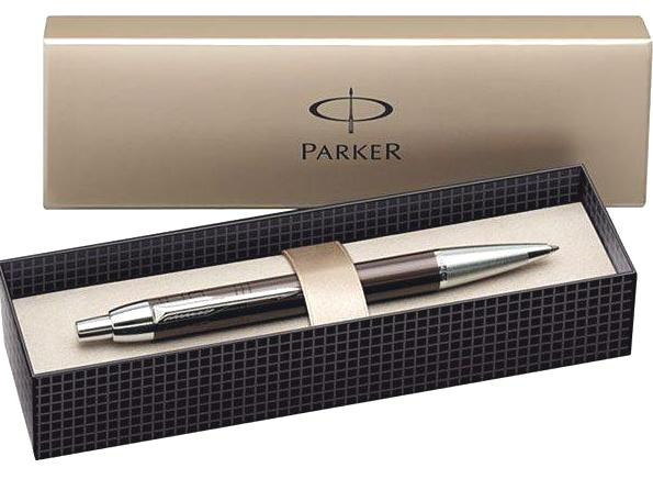 Шариковая ручка Parker I.M. Premium K222, Metallic Brown, фото 2