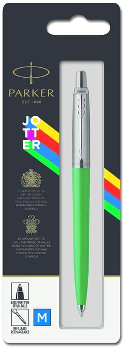 Шариковая ручка Parker Jotter K60 Originals Color Plastic 2019, Green СT