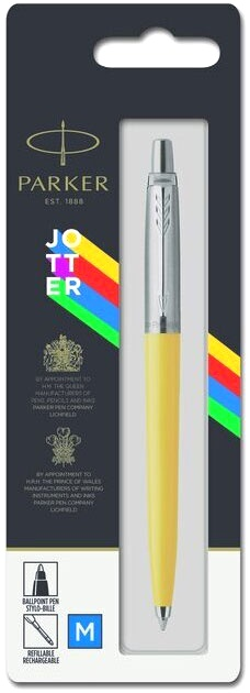 Шариковая ручка Parker Jotter K60 Originals Color Plastic 2019, Yellow СT