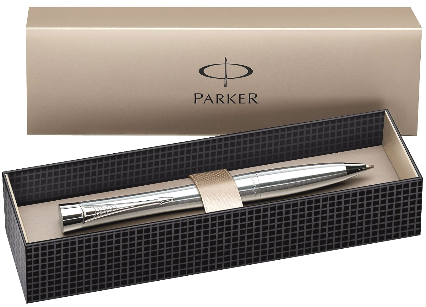 Шариковая ручка Parker Urban K200, Metro Metallic CT, фото 2