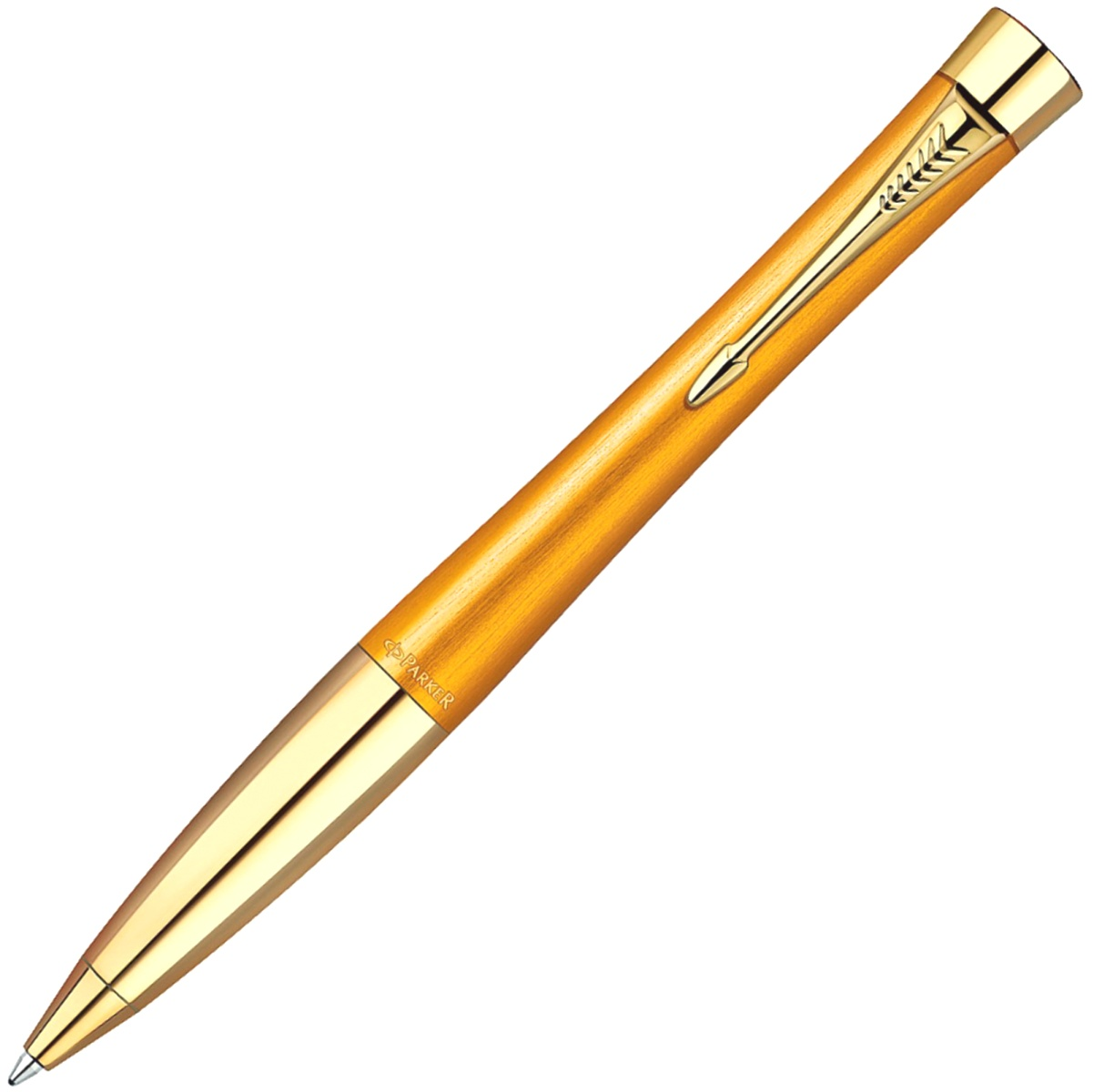 Шариковая ручка Parker Urban K205 Premium Historical Colors, Mandarin Yellow GT